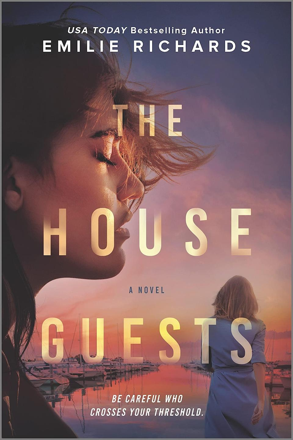<p>The lives of two women grappling with their pasts intersect in <span><strong>The House Guests</strong></span> by Emilie Richards. After her stepdaughter's reckless actions leave a mother, Amber, and her son homeless, Cassie invites them to move into her home. However, it doesn't take long for her to realize Amber has secrets she's trying to hide. </p> <p><em>Out June 29</em></p>