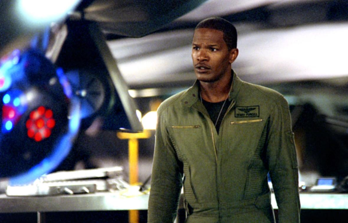 Jamie Foxx Oscar: Best Actor, Ray (2004) Follow-up: Stealth After his pitch-perfect turn as singer Ray Charles, Jamie Foxx strapped himself into the cockpit of one of the biggest box office duds in movie history.