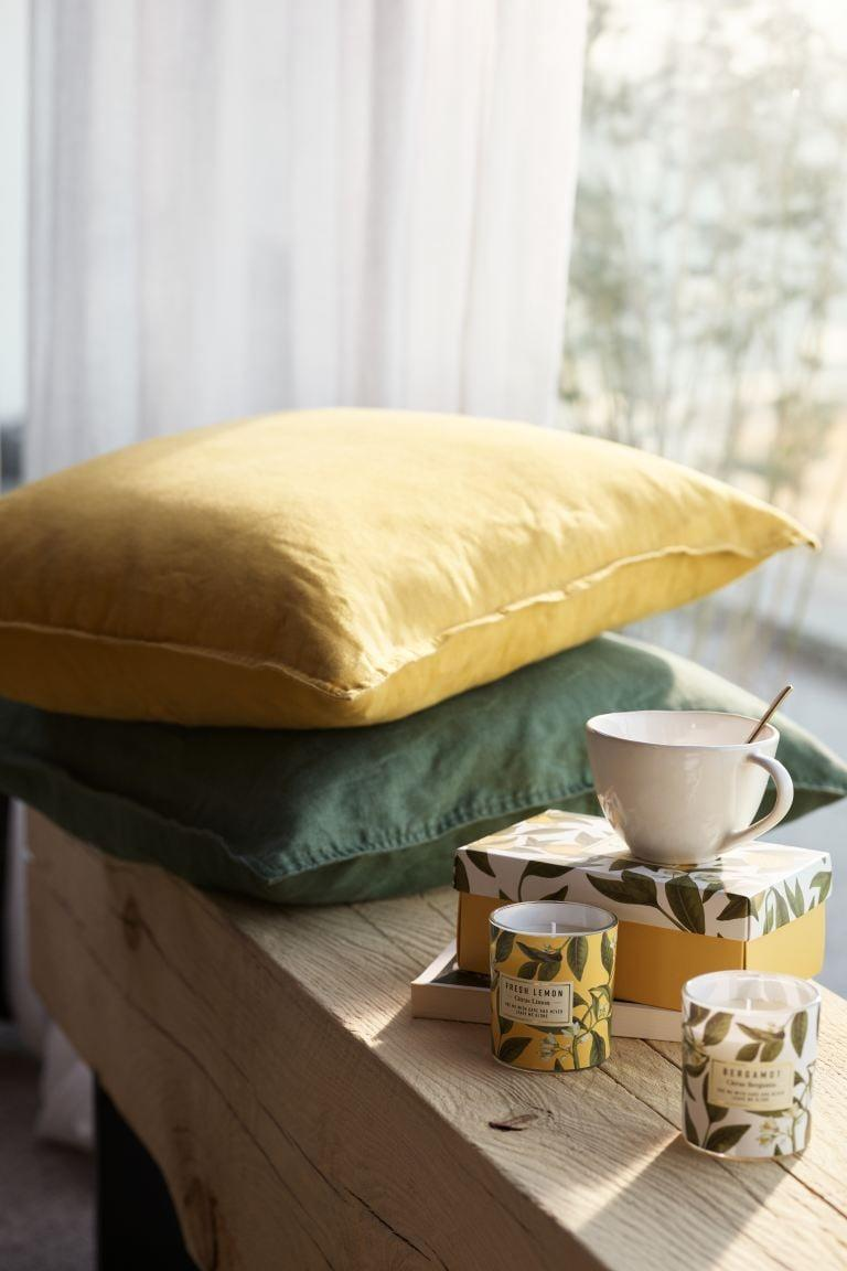 "<p>Get this <a href=""https://www.popsugar.com/buy/HampM-Washed-Linen-Cushion-Cover-584969?p_name=H%26amp%3BM%20Washed%20Linen%20Cushion%20Cover&retailer=www2.hm.com&pid=584969&price=13&evar1=casa%3Aus&evar9=45784601&evar98=https%3A%2F%2Fwww.popsugar.com%2Fhome%2Fphoto-gallery%2F45784601%2Fimage%2F47575733%2FHM-Washed-Linen-Cushion-Cover&list1=shopping%2Cproducts%20under%20%2450%2Cdecor%20inspiration%2Caffordable%20shopping%2Chome%20shopping&prop13=api&pdata=1"" class=""link rapid-noclick-resp"" rel=""nofollow noopener"" target=""_blank"" data-ylk=""slk:H&amp;M Washed Linen Cushion Cover"">H&amp;M Washed Linen Cushion Cover</a> ($13) in your favorite color.</p>"