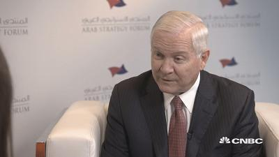 "Former U.S. Secretary of Defense Robert Gates says that America wants to see GCC countries ""unified in dealing with Iran."""