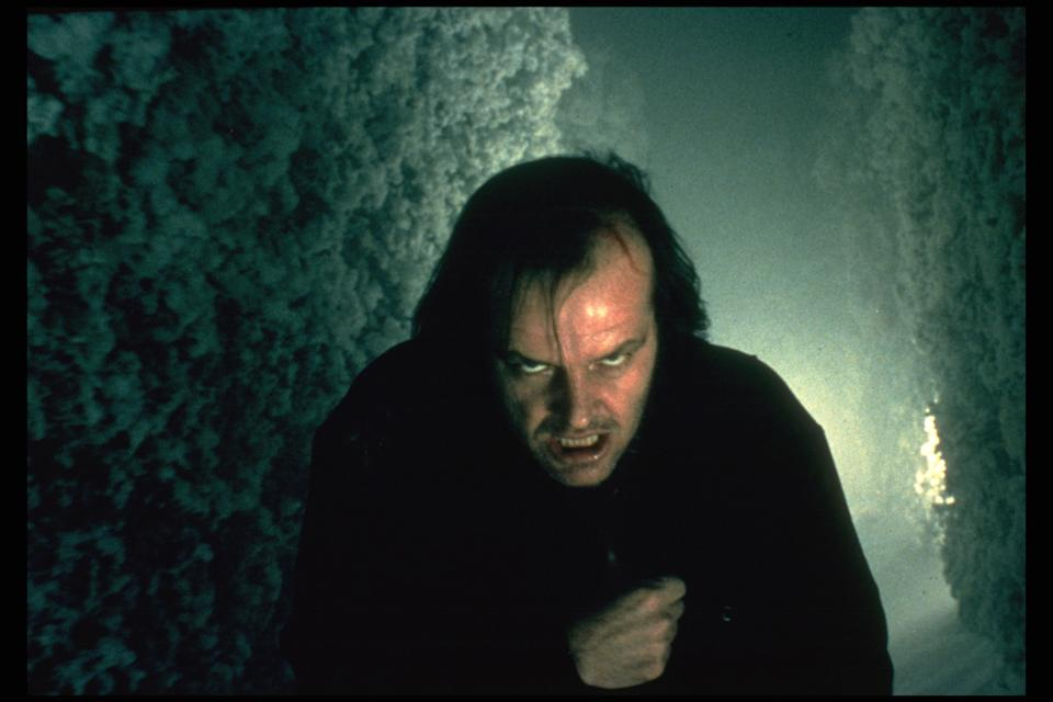 (Original Caption) Jack Nicholson in The Shining. (Photo by Sunset Boulevard/Corbis via Getty Images)