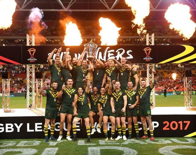 Australia celebrate their 2017 World Cup success but how strong will they be at this year's tournament remains to be seen