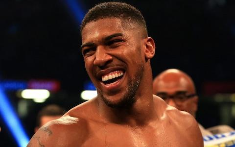 <span>Could Anthony Joshua win SPOTY?</span> <span>Credit: Nick Potts/PA </span>