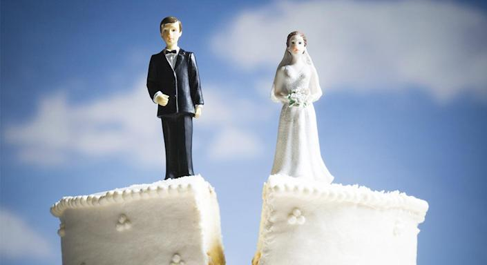 Divorce is always painful, but acting fairly can make the process easier. [Photo: Getty]