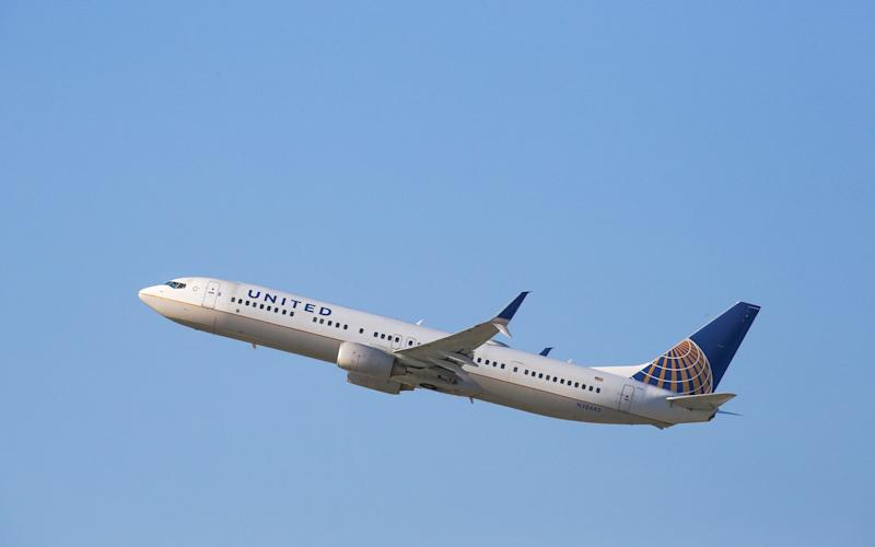 United Airlines has been running the service for 20 years - Credit: GETTY