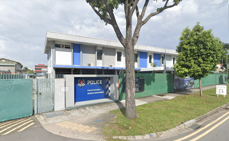 Police National Service Department at 170 Still Road. (PHOTO: Google Street View)