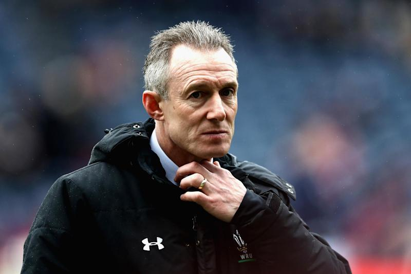 Under pressure: Rob Howley: Getty Images
