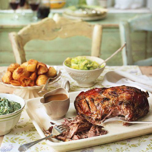 """<p>This meltingly tender lamb is a luxurious yet inexpensive way to feed a crowd.</p><p><strong>Recipe: <a href=""""https://www.goodhousekeeping.com/uk/easter/easter-recipes/a27126270/slow-cook-lamb-shoulder/"""" rel=""""nofollow noopener"""" target=""""_blank"""" data-ylk=""""slk:Slow-roast lamb shoulder"""" class=""""link rapid-noclick-resp"""">Slow-roast lamb shoulder</a></strong></p>"""