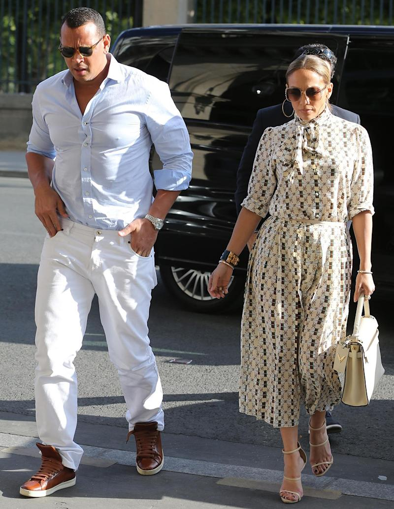 J.Lo and A-Rod Take Their Romance to France