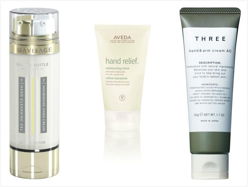 Davisage Handie Bottle , Aveda Hancream , Three Hand Cream