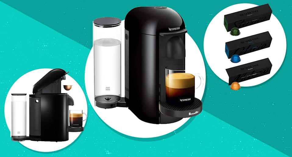 The Nespresso VertuoPlus is a smart way to start your day. (Photo: Amazon)