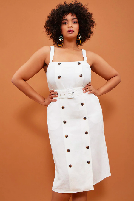 This dress is sick. End of story. Available in sizes 0X to 3X.