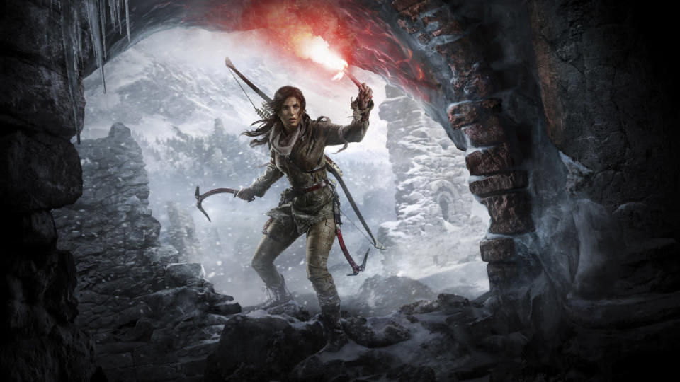 <p>Lara battles a shady group called the Trinity in Siberia in the shadow of a city that bestows immortality in this critically acclaimed next-gen sequel to the 2013 reboot. (Photo: Square Enix) </p>