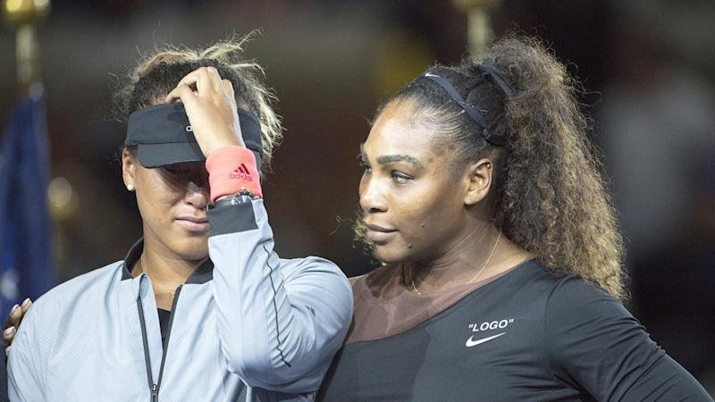 serena williams defends tearful u s open winner naomi osaka fined