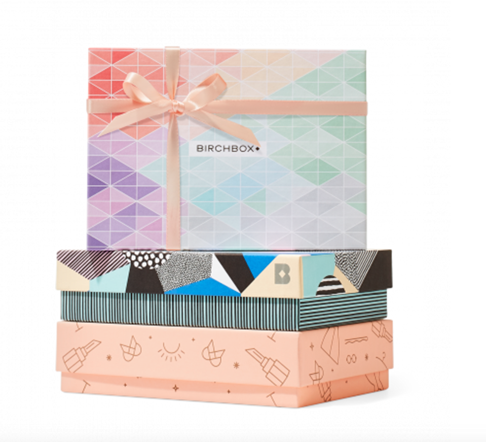 "<h3><a href=""https://www.birchbox.com/product/38999/birchbox-3-month-subscription-gift-card"" rel=""nofollow noopener"" target=""_blank"" data-ylk=""slk:Birchbox 3-Month Subscription Gift Card"" class=""link rapid-noclick-resp"">Birchbox 3-Month Subscription Gift Card<br></a></h3><br>Moms everywhere deserve to indulge in a little self-care, and this big box of little beauty treasures is a great place to start. The Birchbox Gift Subscription Card is pre-loaded with a 3-month subscription, and your giftee can choose when and where to redeem her deliveries. UPS Ground shipping for the card will cost you $7, but the delivery is guaranteed to make it to mom before May 10. <br><br><strong>Birchbox</strong> 3-Month Subscription Gift Card, $, available at <a href=""https://go.skimresources.com/?id=30283X879131&url=https%3A%2F%2Fwww.birchbox.com%2Fproduct%2F38999%2Fbirchbox-3-month-subscription-gift-card"" rel=""nofollow noopener"" target=""_blank"" data-ylk=""slk:Birchbox"" class=""link rapid-noclick-resp"">Birchbox</a>"