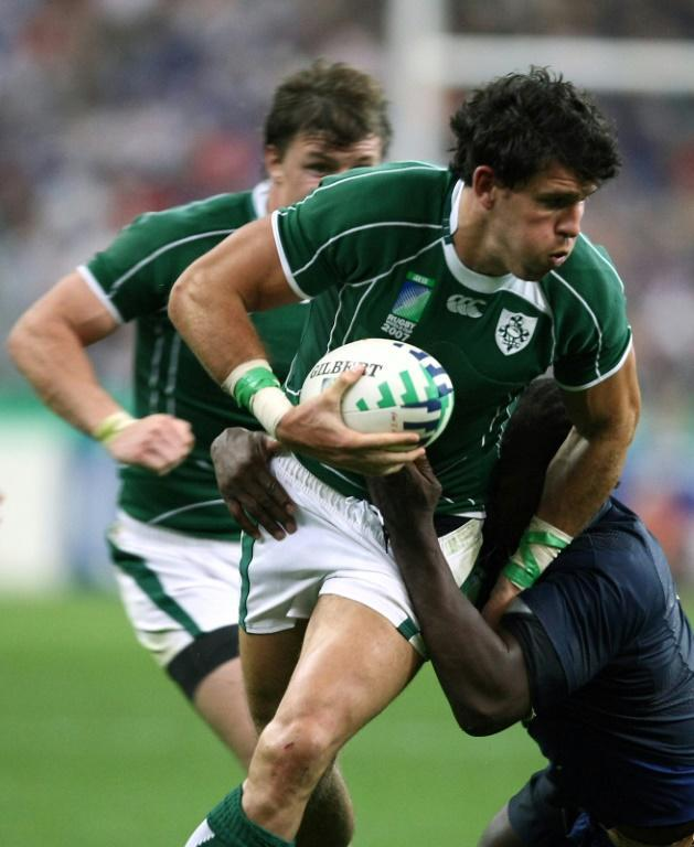 Shane Horgan made his last Test appearance in 2009