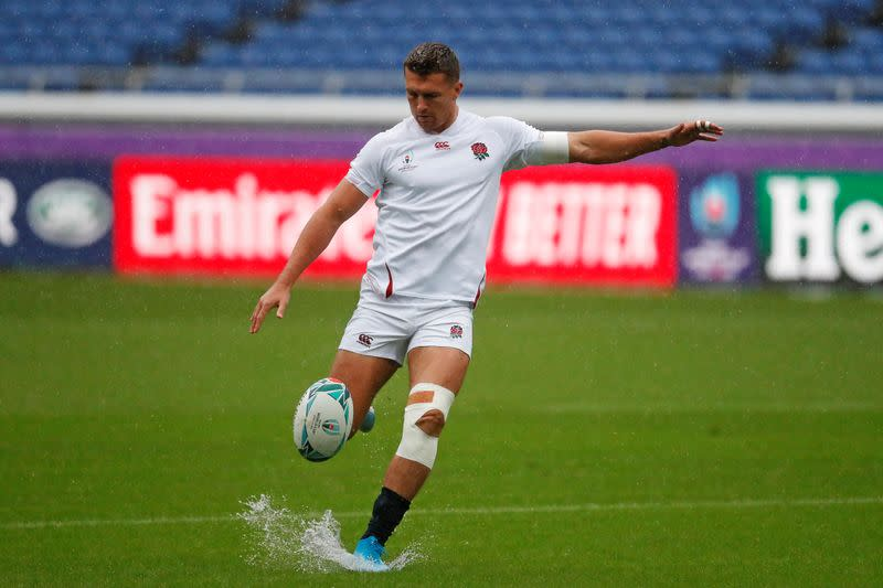 Injured Slade a doubt for England's Six Nations start
