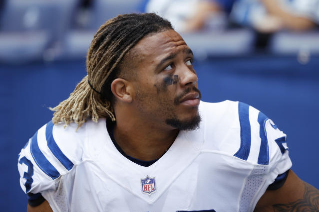"Colts' linebacker <a class=""link rapid-noclick-resp"" href=""/nfl/players/28806/"" data-ylk=""slk:Edwin Jackson"">Edwin Jackson</a> was killed by a suspected drunk driver early Sunday morning. He was 26 years old."