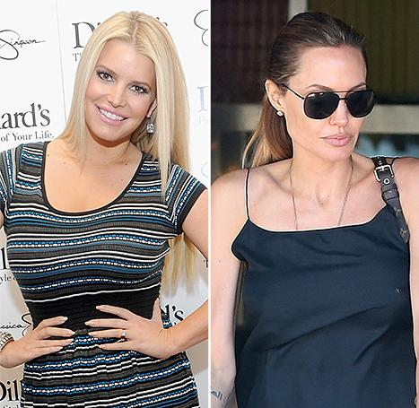 Jessica Simpson Shows Off Her Family on the Red Carpet, Angelina Jolie Steps Out With Her Twins: Top 5 Weekend Stories
