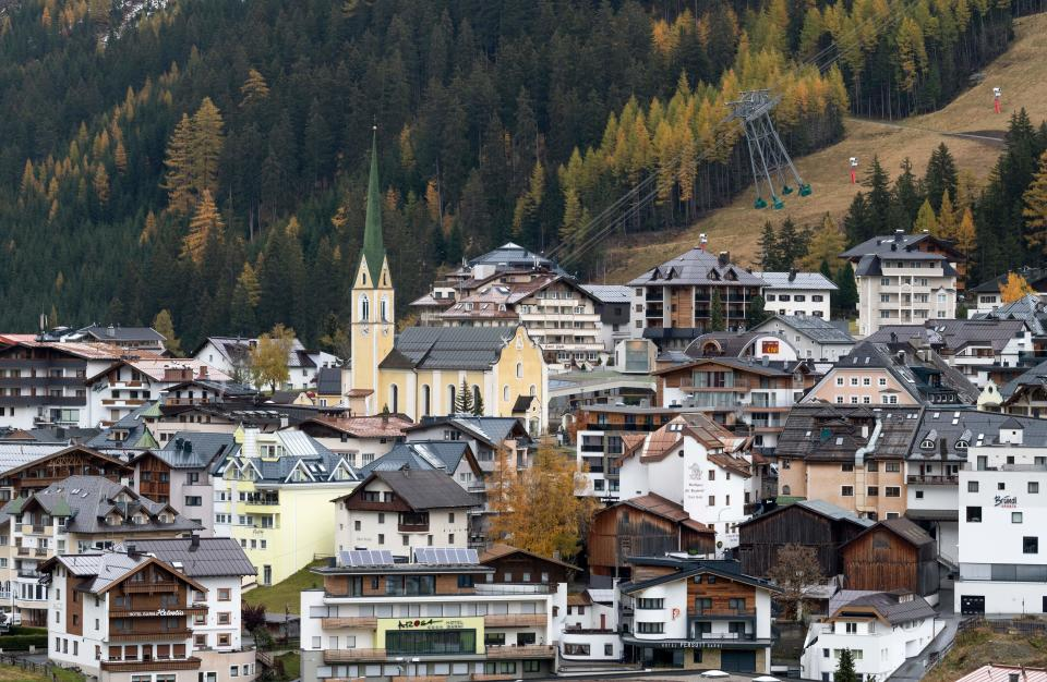 Ischgl became infamous at the start of the pandemic. (Getty)