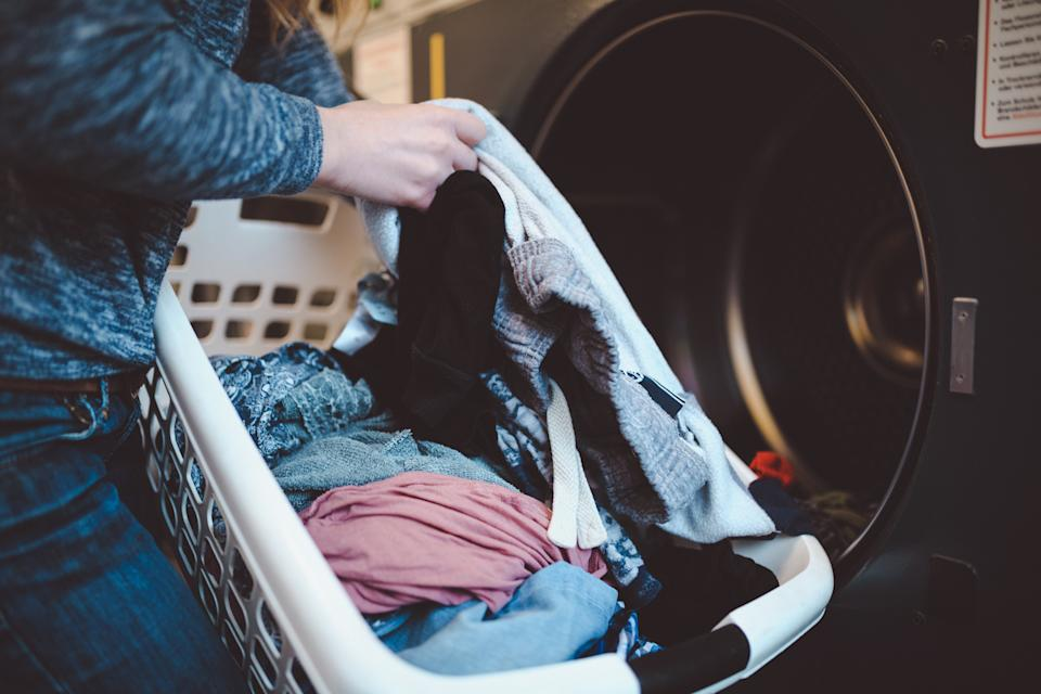 Are we washing our clothes too much? [Photo: Getty]