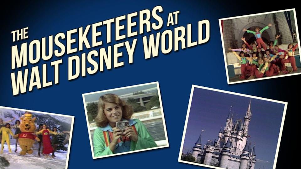 The Mouseketeers go east to Orlando for some Sunday Night Fever. (Photo: Disney+)