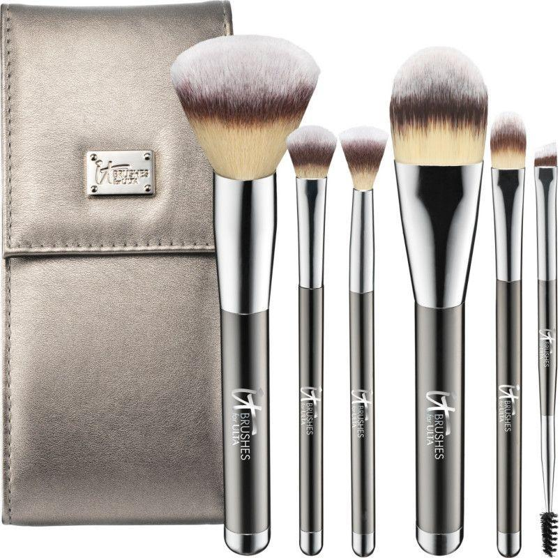 """<p><strong>IT Brushes For ULTA</strong></p><p>ulta.com</p><p><strong>$50.00</strong></p><p><a href=""""https://go.redirectingat.com?id=74968X1596630&url=https%3A%2F%2Fwww.ulta.com%2Fp%2Fyour-superheroes-full-size-travel-makeup-brush-set-xlsImpprod11061196&sref=https%3A%2F%2Fwww.prevention.com%2Fbeauty%2Fmakeup%2Fg37620517%2Fbest-makeup-brush-sets%2F"""" rel=""""nofollow noopener"""" target=""""_blank"""" data-ylk=""""slk:Shop Now"""" class=""""link rapid-noclick-resp"""">Shop Now</a></p><p>Although they're on the pricier side, IT Cosmetics brushes are acclaimed by the beauty world as some of the softest on the market. """"So soft and blend flawlessly,"""" one Ulta reviewer wrote. Other shoppers love that they <strong>feel sturdy and don't shed</strong>.</p>"""