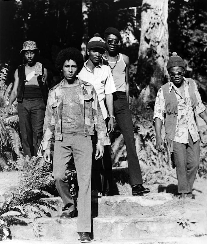 A group photo of The Wailers