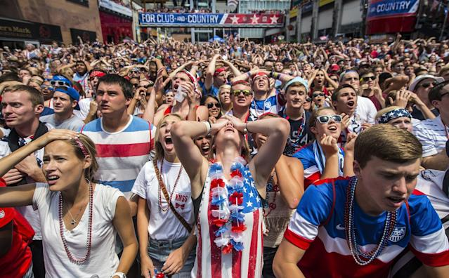Where does soccer truly stand in the United States? This summer's World Cup will offer a referendum. (Getty)