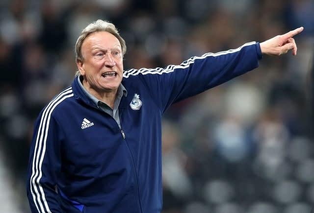 Neil Warnock's arrival at Middlesbrough is the latest mid-season change in the EFL (Nick Potts/PA)