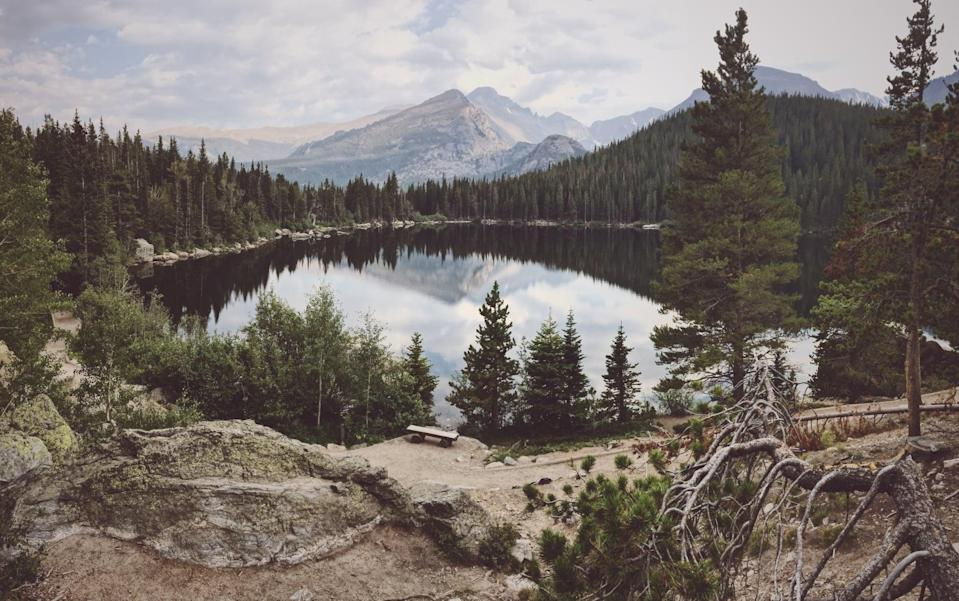 """<p>If you love the great outdoors, head to the heart of the Rocky Mountains in the quaint town of Estes Park, Colorado for an off-the-grid nature adventure. Want to stay at the basin of a national park? Check in to <a href=""""http://www.extraholidays.com/estes-park-colorado/worldmark-estes-park"""" class=""""link rapid-noclick-resp"""" rel=""""nofollow noopener"""" target=""""_blank"""" data-ylk=""""slk:WorldMark Estes Park"""">WorldMark Estes Park</a>, which is ideal for families or groups of friends. You'll get multi-bedroom suites, full kitchens, separate dining spaces, and outdoor hot tubs. The member-based travel club WorldMark by Wyndham is <a href=""""https://www.forbes.com/sites/debbikickham/2021/04/18/wyndham-celebrates-national-parks-week-with-special-offer/?sh=7a0595db5785"""" class=""""link rapid-noclick-resp"""" rel=""""nofollow noopener"""" target=""""_blank"""" data-ylk=""""slk:unlocking free entry to all national parks"""">unlocking free entry to all national parks</a> this summer for stays booked at select properties, so your road trip doesn't have to end here!</p>"""
