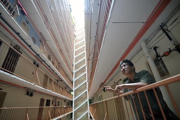 Loh Eng Kim has been living at the Rifle Range flats since 1971.