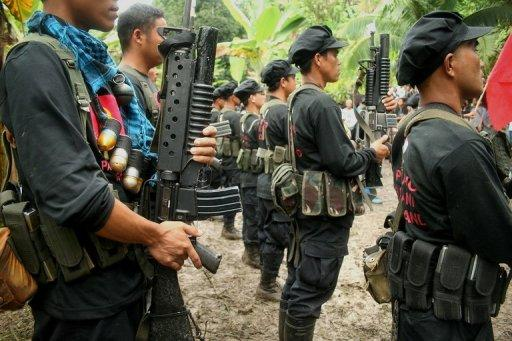 Philippine military estimates the New People's Army's current strength at about 4,000 fighters nationwide