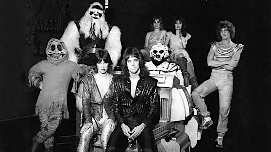 Disneyland rock band Halyx in 1981. (Photo: Defunctland)