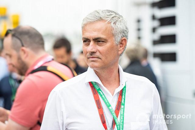 "Jose Mourinho <span class=""copyright"">Gareth Harford / Motorsport Images</span>"