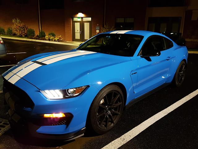 Ford Shelby Mustang GT350 (Credit: Pras Subramanian)