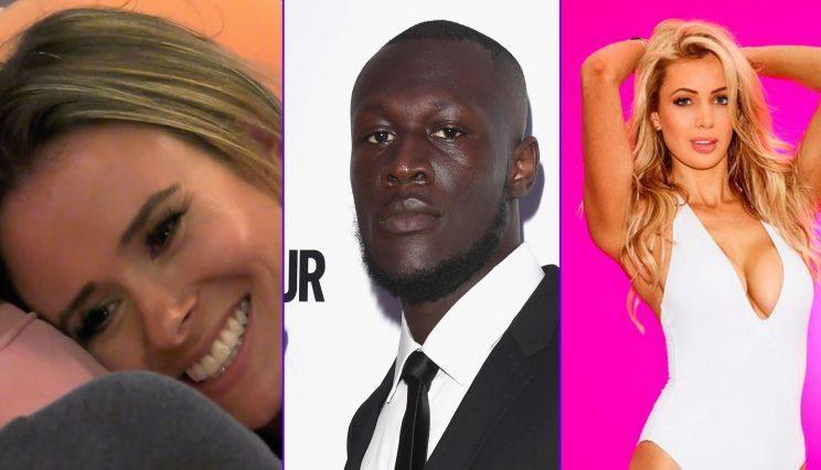 Stormzy thinks Olivia (right) isn't good enough for Chris and Camilla (left) is losing favour with fans too. (ITV/WENN)