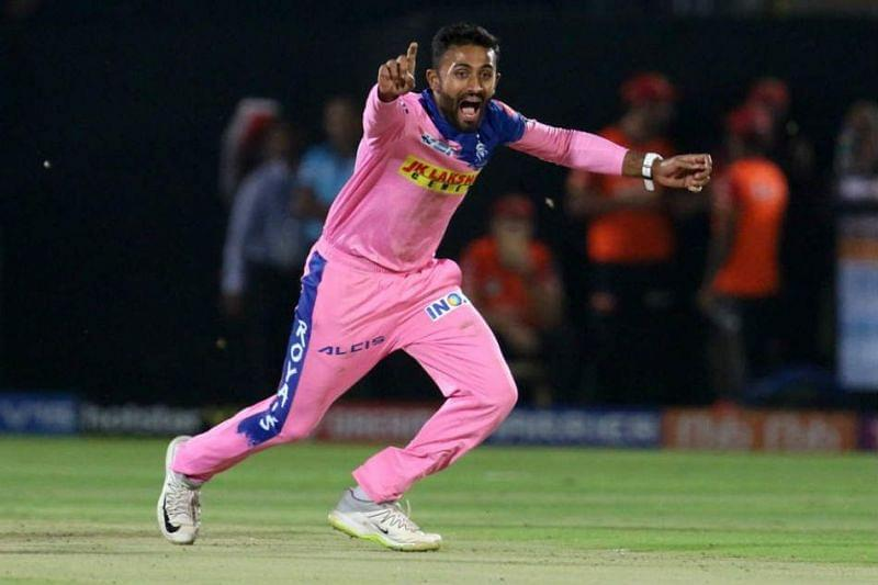 Shreyas Gopal is the only experienced spinner in this RR side.