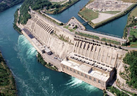 hydroelectricity facility