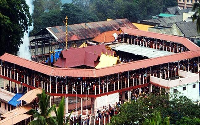 <p>The Supreme Court has referred the matter pertaining to the ban on the  entry of women into Kerala's famous Sabrimala temple to a five-judge  constitution bench.</p>