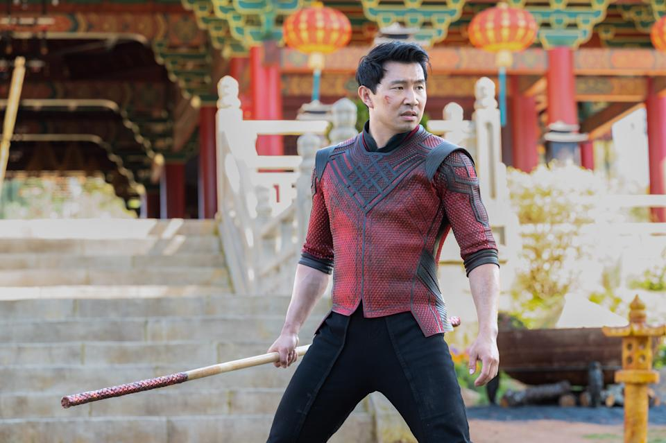 Shang-Chi (Simu Liu) in Marvel Studios' Shang-Chi and the Legend of the Ten Rings. (Photo by Jasin Boland/Marvel Studios)