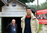 Visits by world tennis star, Novak Djokovic, have bolstered interest in the park