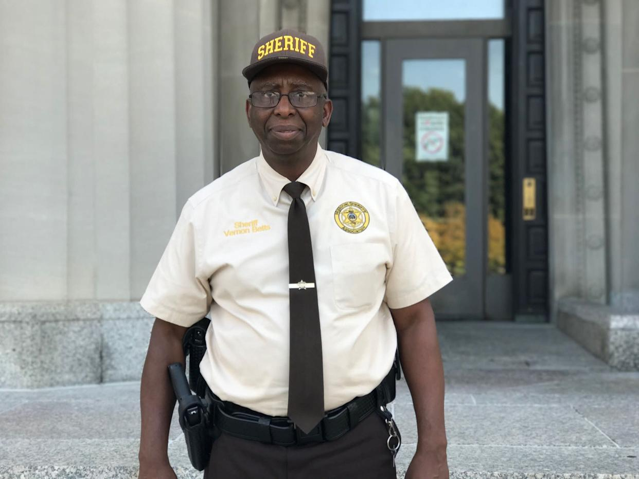 St Louis Sheriff Vernon Betts was involved in preparations for the Jason Stockley verdict. (Photo: Ryan J Reilly / HuffPost)
