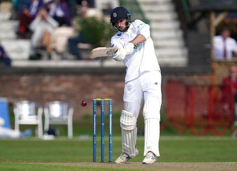 James Vince scored 69 for Hampshire on day two against Lancashire (Martin Rickett/PA) (PA Wire)