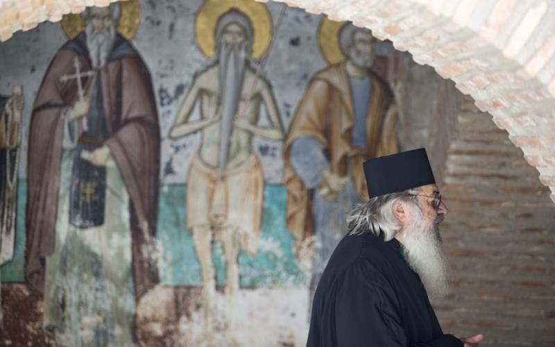 Mount Athos is the holiest site in Greek Orthodoxy - Dimitris Tosidis/Anadolu Agency/Getty Images