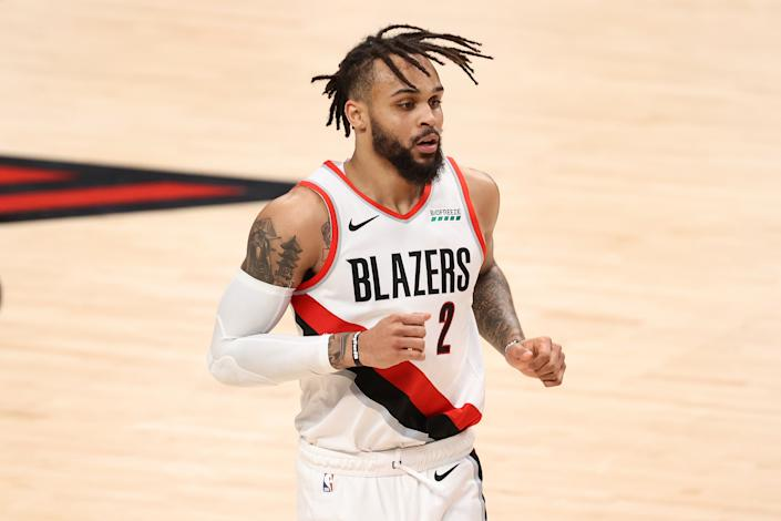 Gary Trent Jr. is an excellent pick up for the Raptors and should fill the hole left behind by Norman Powell's departure. (Getty)