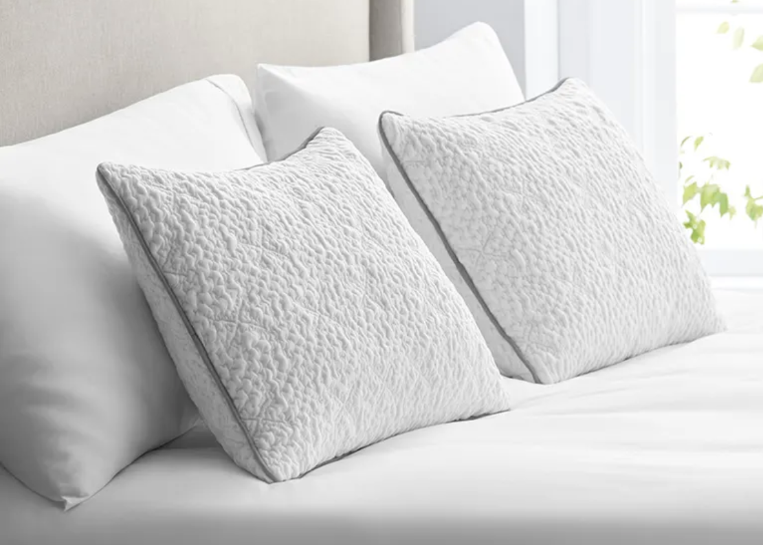Rest easy with savings of up to $130 on a pair of Sleep Number ComfortFit pillows. (Photo: Sleep Number)