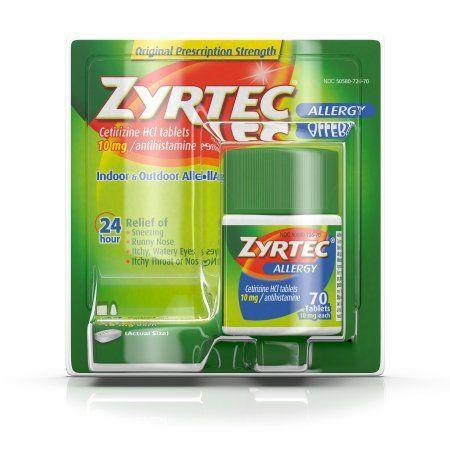 """<p>$25</p><p><a class=""""link rapid-noclick-resp"""" href=""""https://www.walmart.com/ip/Zyrtec-Tablets-70-Count-10-Mg/14971994"""" rel=""""nofollow noopener"""" target=""""_blank"""" data-ylk=""""slk:BUY NOW"""">BUY NOW</a><br></p><p>When you're outside as much as Californians are, <a href=""""https://www.walmart.com/ip/Zyrtec-Tablets-70-Count-10-Mg/14971994"""" rel=""""nofollow noopener"""" target=""""_blank"""" data-ylk=""""slk:Zyrtec"""" class=""""link rapid-noclick-resp"""">Zyrtec</a> is a must.</p>"""