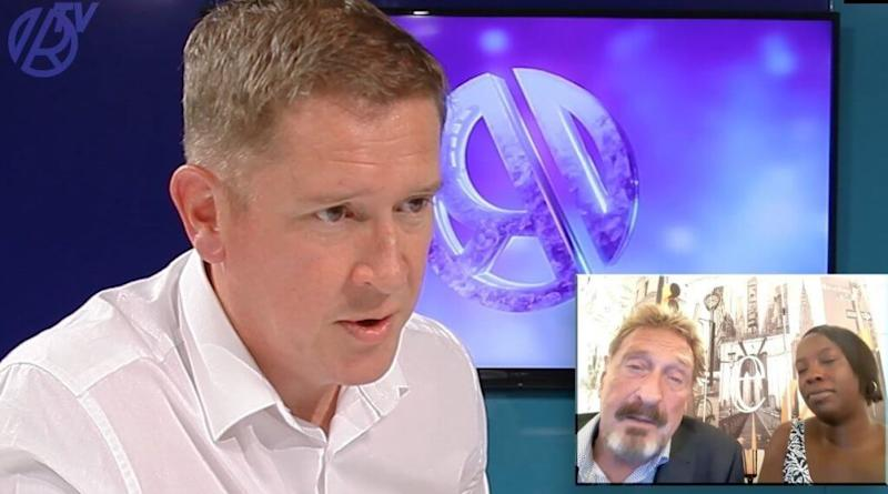 McAfee faked heart attack to avoid deportation