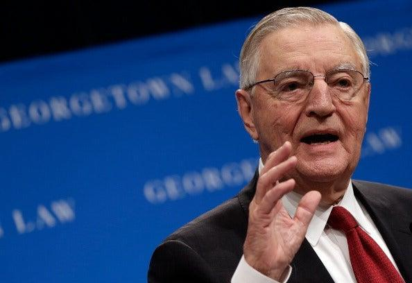 <p>On Monday, a gracious final email from the late Walter Mondale was sent out to his staff</p> (Getty Images)
